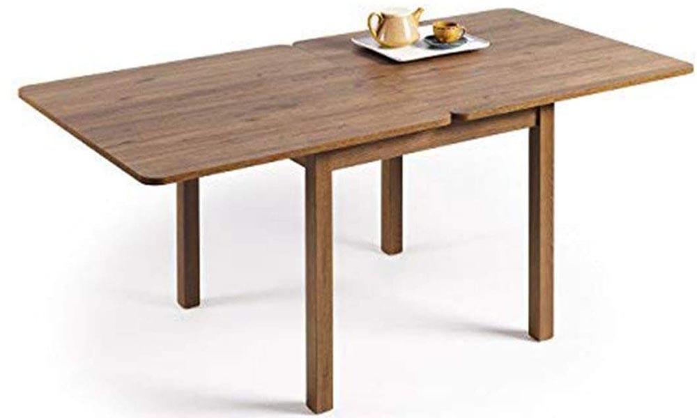 Mesa de cocina extensible HOGAR24 Nogal
