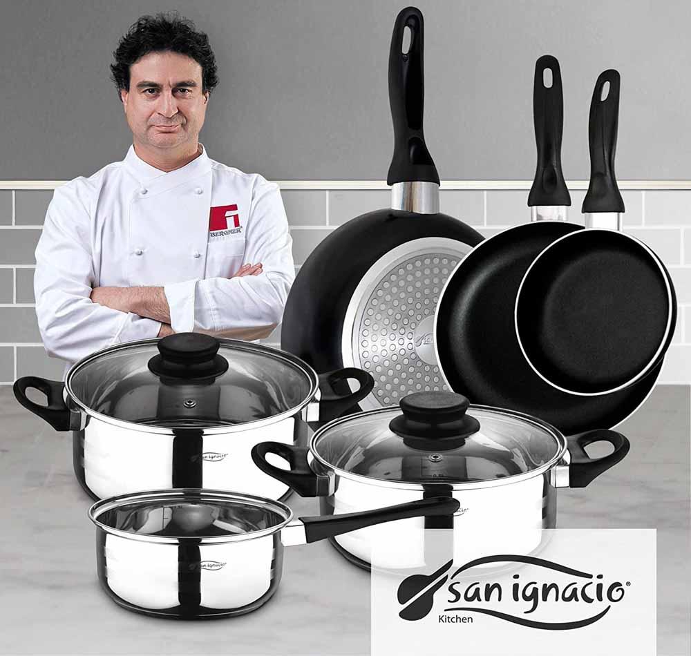 Batería de cocina San Ignacio PK329